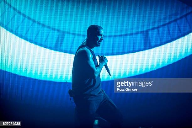 Drake performs at The SSE Hydro on March 23 2017 in Glasgow United Kingdom