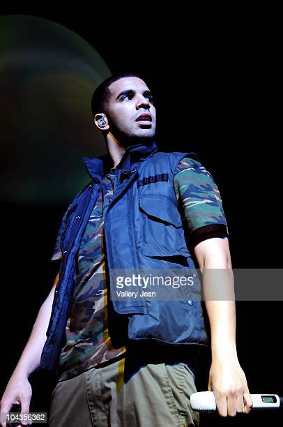 Drake Performs during his 2nd sold out night concert for his US 'Light Dreams and Nightmares' tour at James L Knight Center on September 21 2010 in...