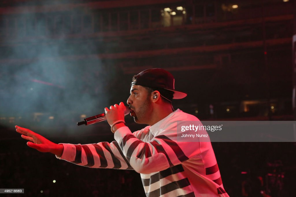 Drake performs in concert during Hot 97 Summer Jam 2014 at MetLife Stadium on June 1, 2014 in East Rutherford City.