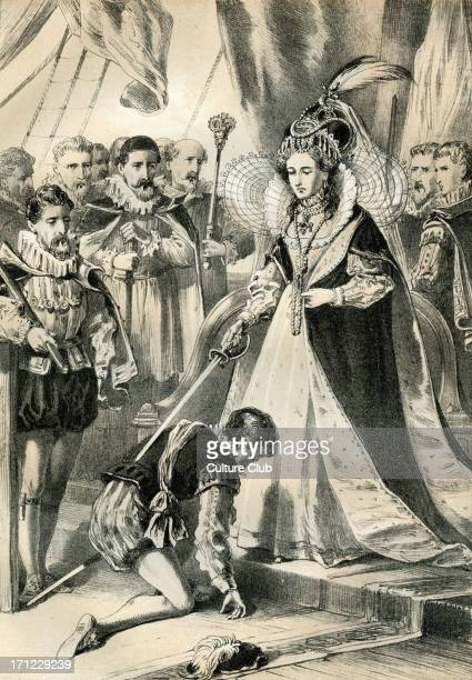 Drake was knighted in 1581 by Queen Elizabeth I Sir Francis Drake Vice Admiral was an English privateer navigator slave trader and politician of the...
