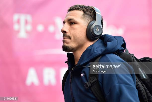Drakkar Klose arrives prior to his fight during the UFC 248 event at T-Mobile Arena on March 07, 2020 in Las Vegas, Nevada.