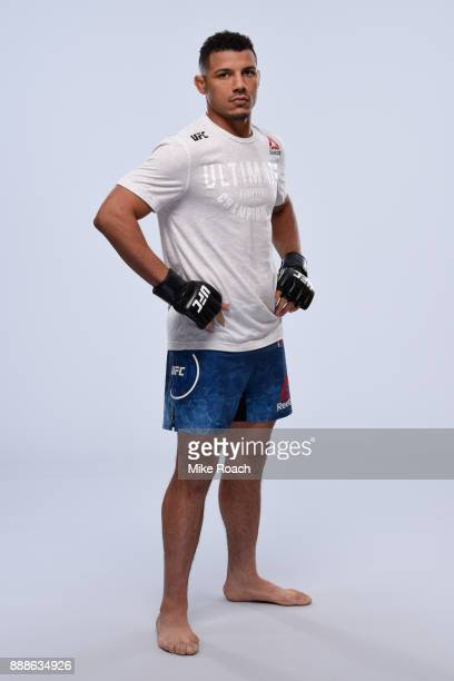 Drakkar Klose poses for a portrait during a UFC photo session on November 29, 2017 in Detroit, Michigan.