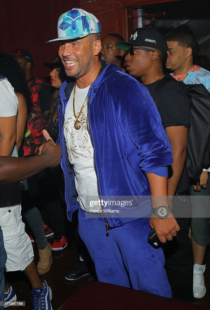 DJ Drama attends the Birthday Bash Afterparty featuring Meek Mill, DJ Drama and French Montana at Mansion Elan on June 15, 2013 in Atlanta, Georgia.