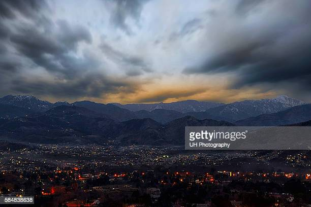 Dramatic Abbottabad Sunrise