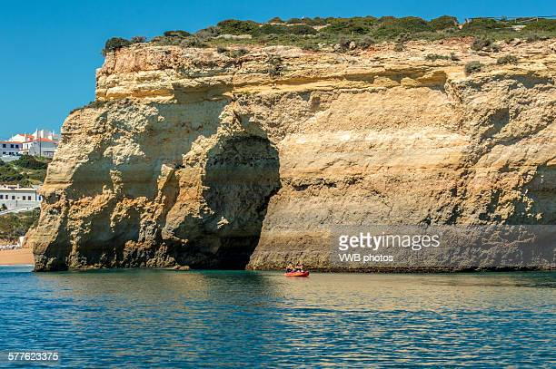 Dramatic Algarve coastline
