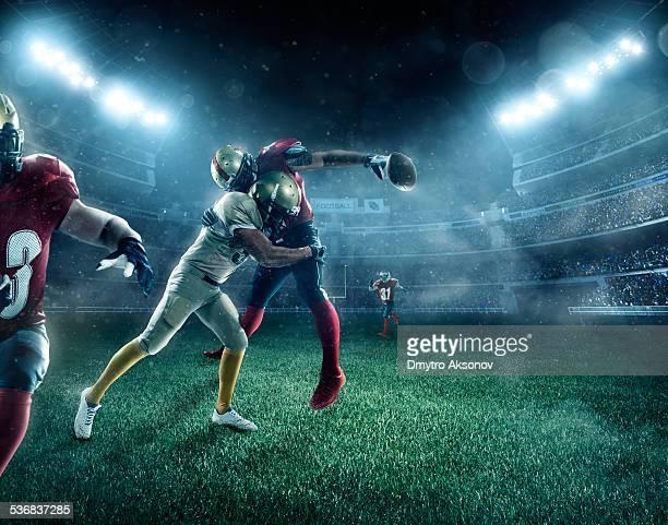 ドラマチックなアメリカンフットボール