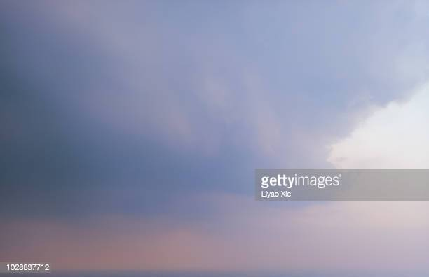 dramatic clouds - liyao xie stock pictures, royalty-free photos & images