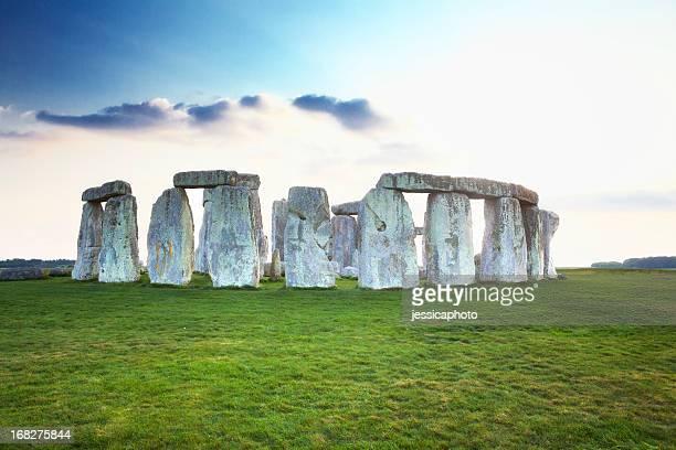 Dramatic Dusk at Stonehenge
