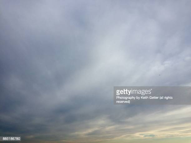 A dramatic expansive sky