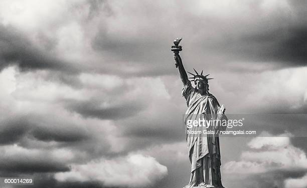 Dramatic image of Statue Of Liberty