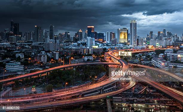 Dramatic in Bangkok city