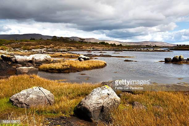 Dramatic Landscape at Screeb Connemara Ireland