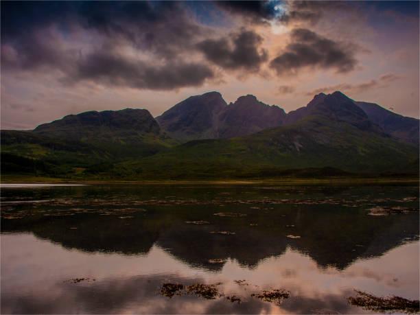 Dramatic landscape, Isle of Skye, inner Hebrides, Scotland, United Kingdom.