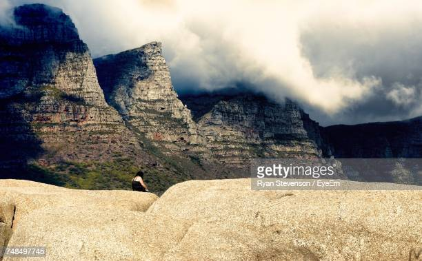 Dramatic Landscape With Majestic Rock Formations