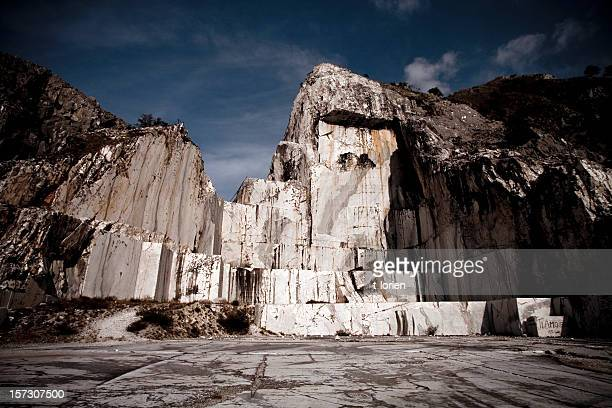 Dramatic Marble Quarry