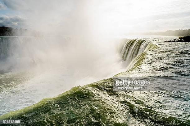 Dramatic Niagara Falls Canadian Side