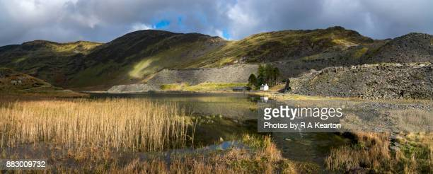 Dramatic scenery at Cwmorthin, North Wales
