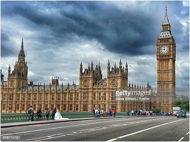 Dramatic Sky Over Big Ben