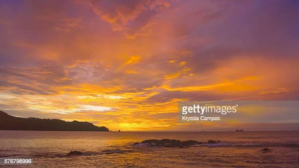 Dramatic Sunset at Playa Conchal, Guanacaste - Costa Rica
