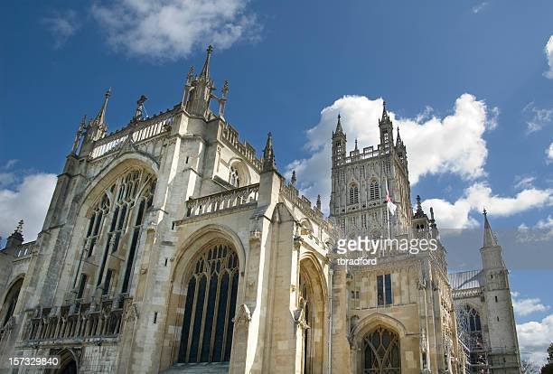 Dramatic View Of Gloucester Cathedral In The UK