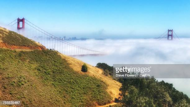 Dramatic View Of Golden Gate