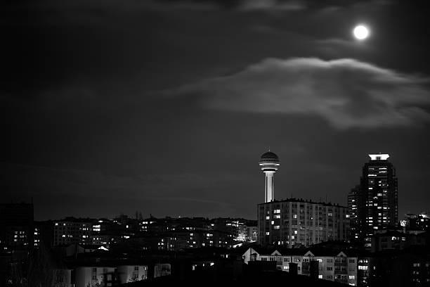 Dramatic Weather-City Life at Ankara