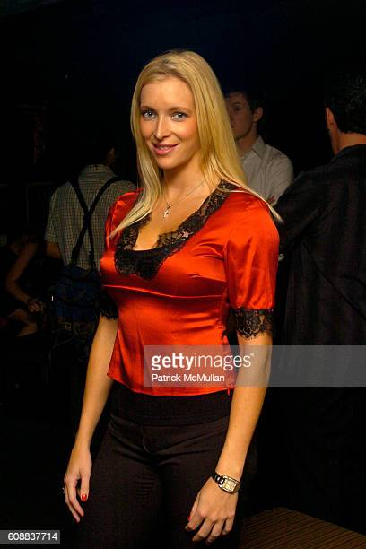 Drambuie Girl attends Drambuie Den Event with Special Guest Heather Vandeven at Level V on October 22 2007 in New York