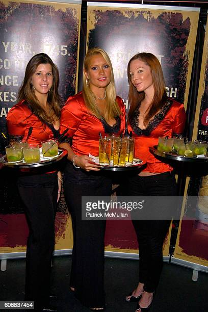Drambuie Girls attends Drambuie Den Event with Special Guest Heather Vandeven at Level V on October 22 2007 in New York
