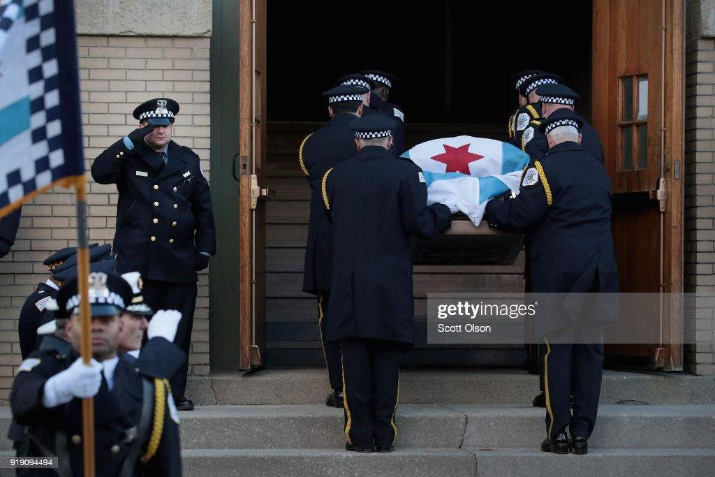 City Of Chicago Mourns Killing Of Police Commander Paul Bauer