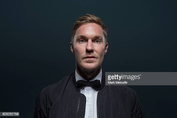 Drapht poses for a portrait with an ARIA for Best Urban Album during the 30th Annual ARIA Awards 2016 at The Star on November 23, 2016 in Sydney,...