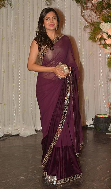 Drashti Dhami at Bipasha Basu and Karan Singh Grovers wedding reception ceremony at St Regis Hotel in Mumbai