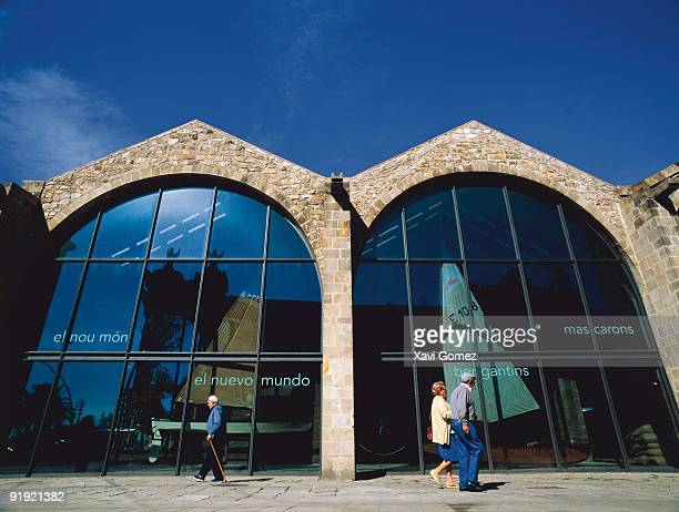 Marine museum of Barcelona At the present time Real the Atarazanas welcomes the Museum Marine that conserves and exposes pieces of artistic interest...