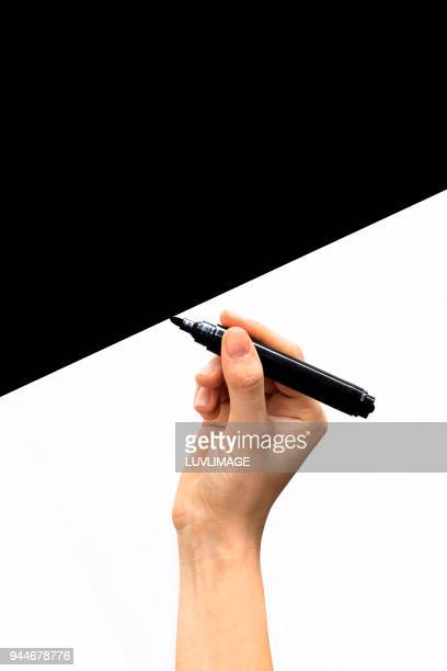 Drawing A Black Space.