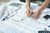 Drawing blueprint