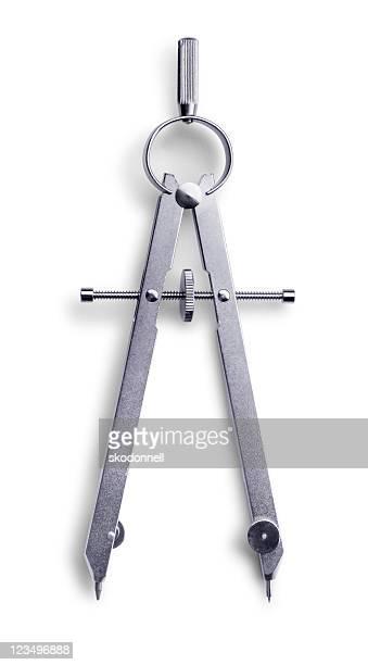 Compas avec un Tracé de détourage