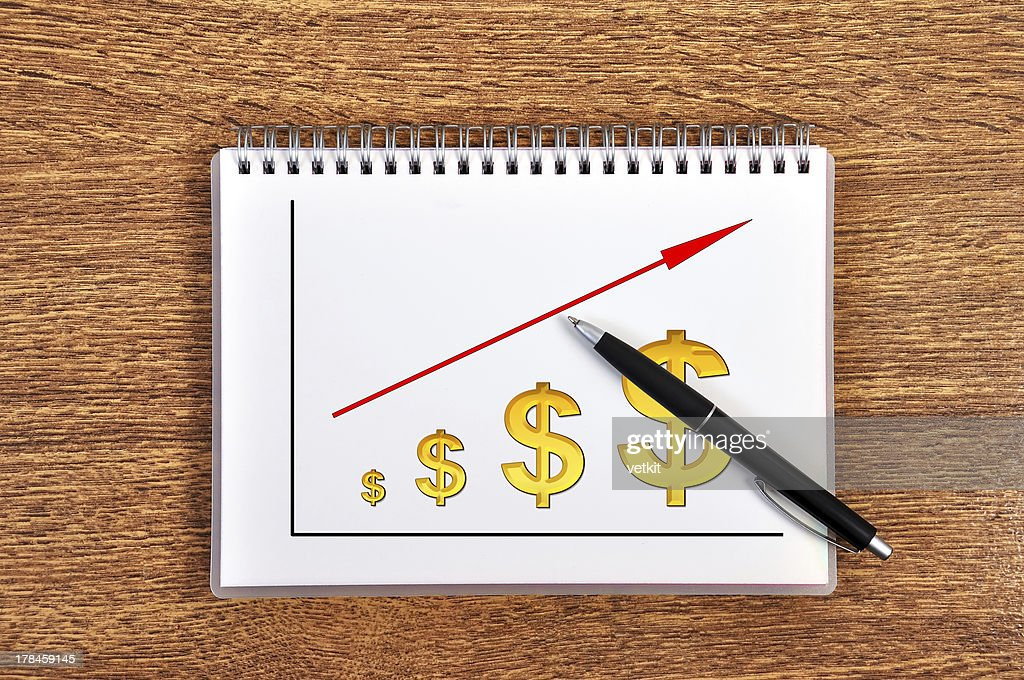 Drawing Growth Chart Stock Photo Getty Images