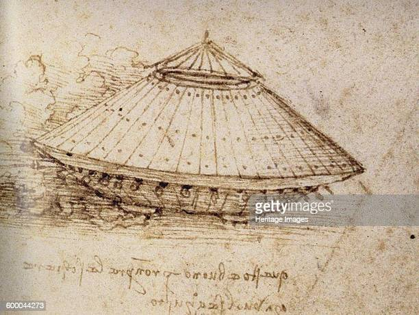 Drawing of an armoured tank ca 1485 Found in the collection of British Museum Artist Leonardo da Vinci