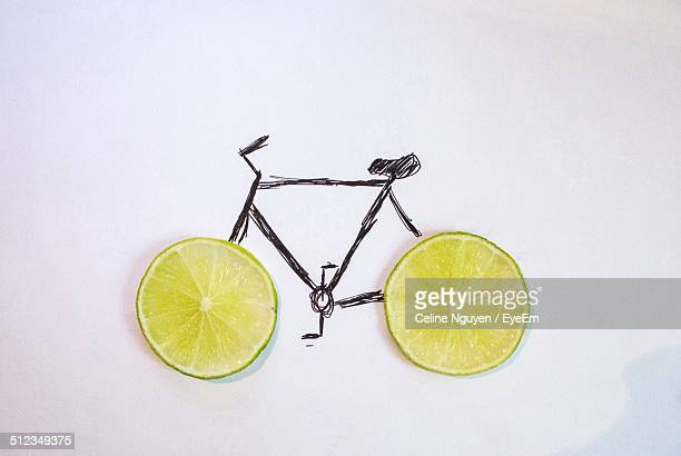 Drawing of bicycle