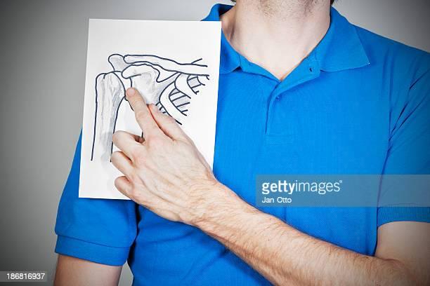 Dibujo de hombro