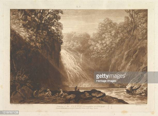 Drawing of the Clyde March 29 1809 Artist JMW Turner