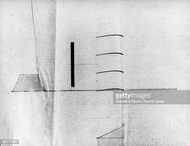 Drawing of the side view of Pilcher's quadriplane. Percy Pilcher was an English flying pioneer who developed a number of gliders, notable the Bat and...