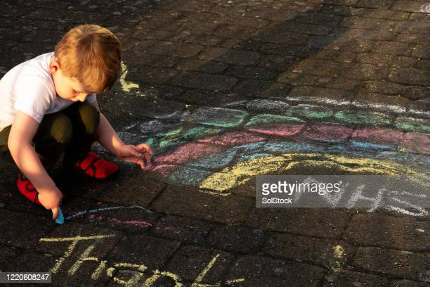 drawing rainbows - grounds stock pictures, royalty-free photos & images