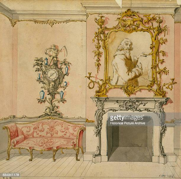 Drawing Room Design by John Linnell