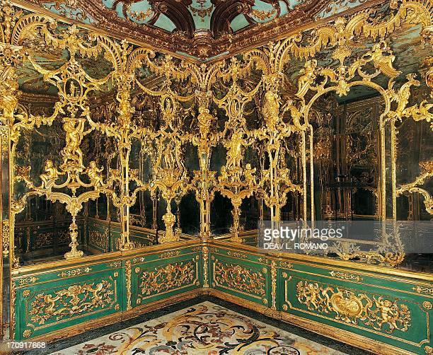 Drawing room of Mirrors of the Duke of Corigliano Palazzo Saluzzo di Corigliano Naples Campania Italy
