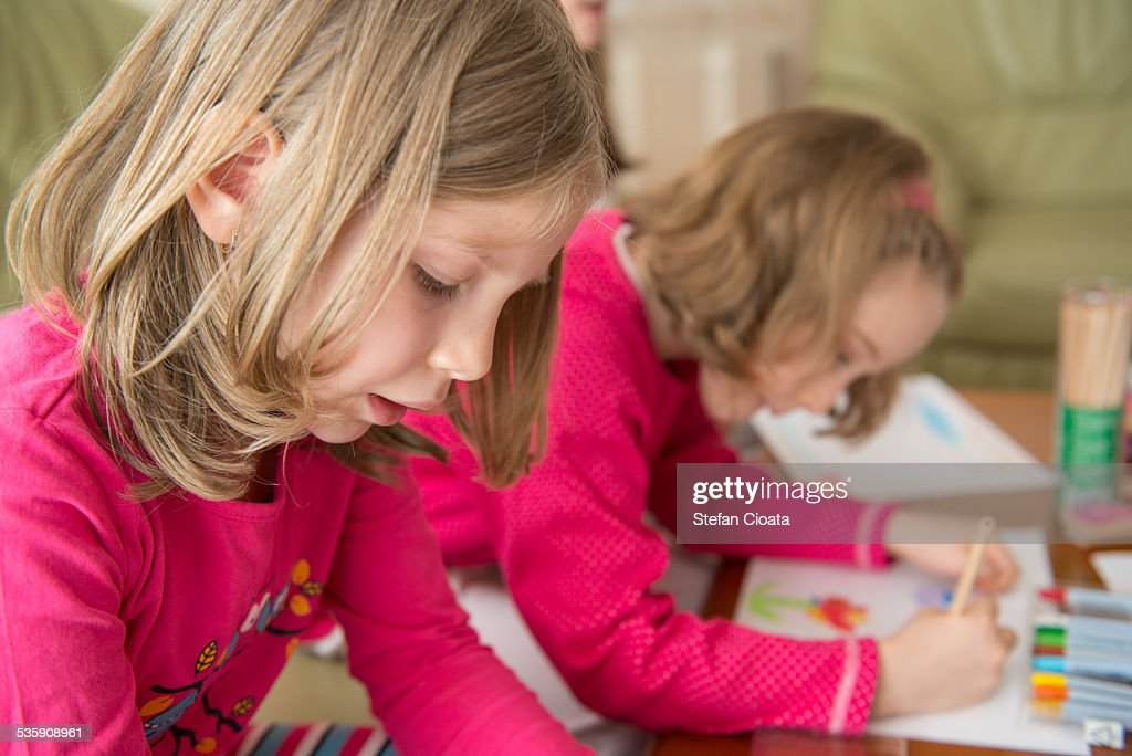 Drawing time : Stock Photo
