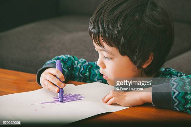 drawing with crayons - peter lourenco stock pictures, royalty-free photos & images