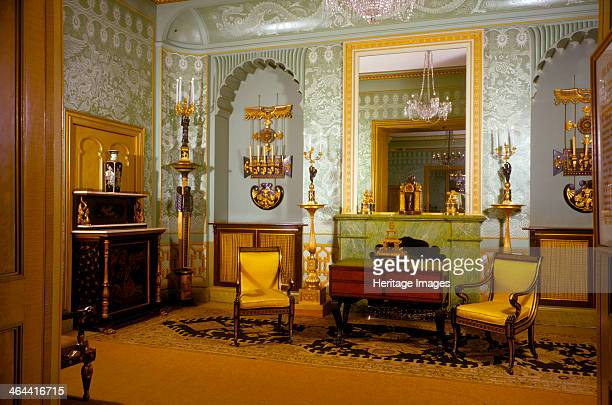 Drawingroom Royal Pavilion Brighton East Sussex 19451980 The Pavilion was originally built in 17861787 by Henry Holland for King George IV then...