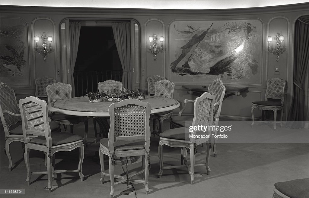 The Marvellous Interiors Of Onassis Christina Yacht News Photo