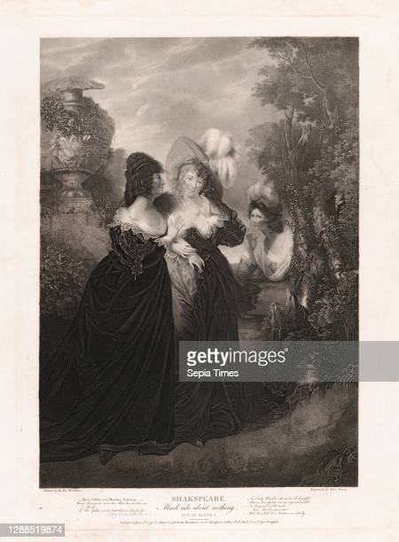 Drawings and Prints, Print, Hero, Ursula and Beatrice , Boydell'shakespeare Gallery, Publisher, Engraver, Artist, Subject, After, John & Josiah...
