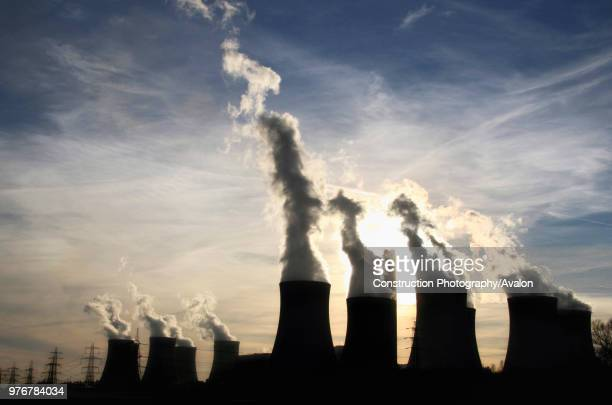 Drax Power Station near Selby North Yorkshire The station is the largest cleanest and most efficient coalfired station in britain and provides about...
